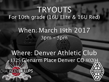 March 2017 Tryouts