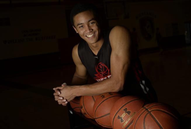 Justin Bassey basketball player at Colorado Academy