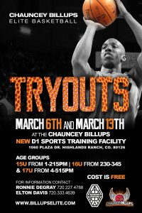 High School Tryouts