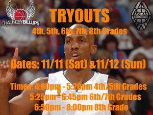 Tryouts | November 2017
